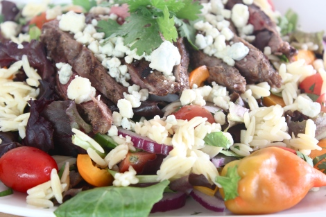 Steak + Orzo Salad