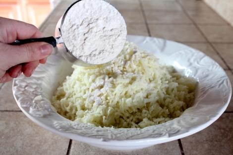 Flour In Potato Gnocchi