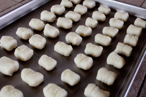 Drying Gnocchi