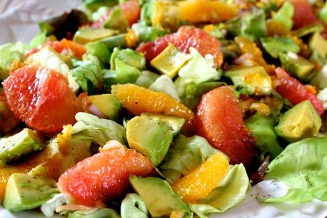 Avocado + Grapefruit Salad