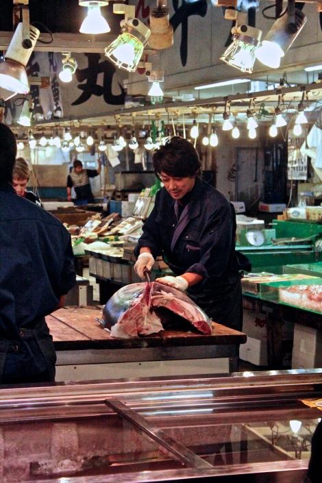 Giant Tuna, Tsukiji Fish Market Tokyo