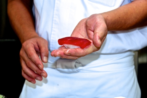 How To Make Sushi: Toro (Tuna)