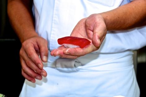 How To Make Sushi: Toro (Tuna)