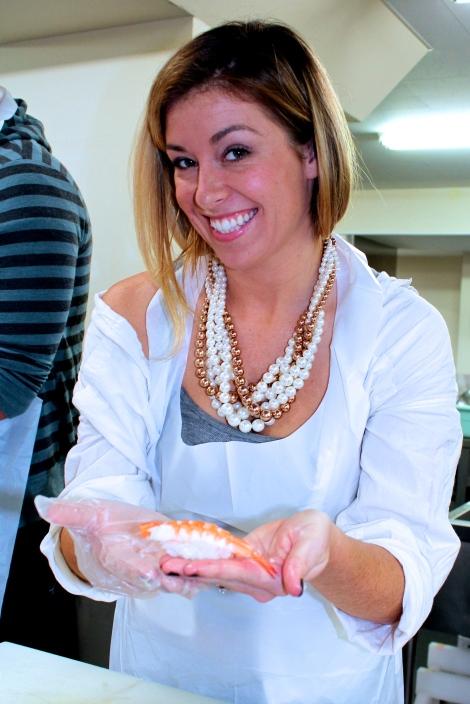 How To Make Sushi: Shrimp