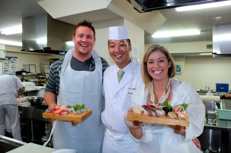 How To Make Sushi: Finished Sushi