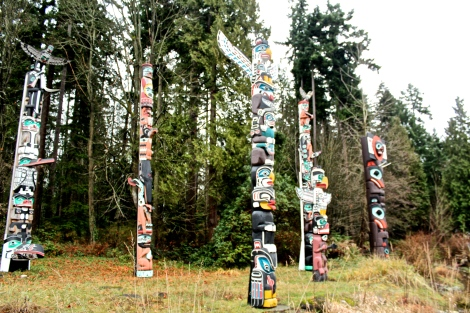 Vancouver, Canada: Stanley Park Totem Poles