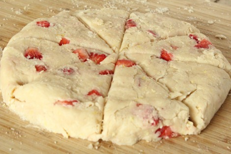 Cut Scone Dough