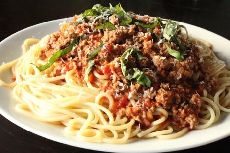 Home Made Spaghetti Bolognese