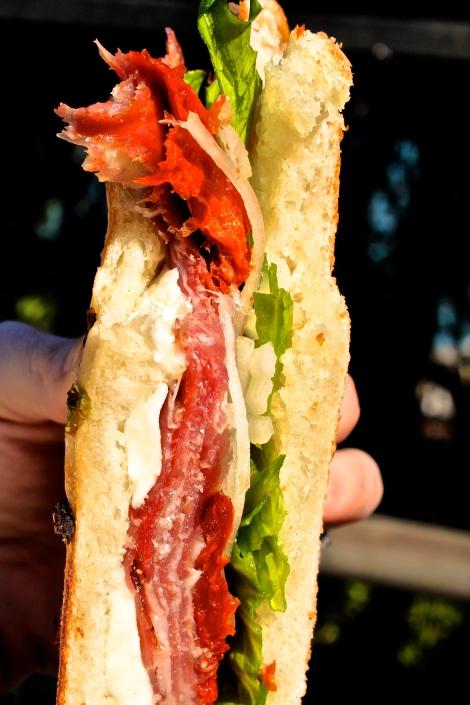 BEST Sandwich EVER (Molinari's Deli)