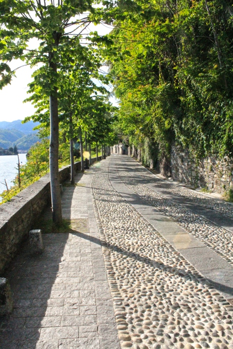 Cobble Stone Streets, Lake Orta